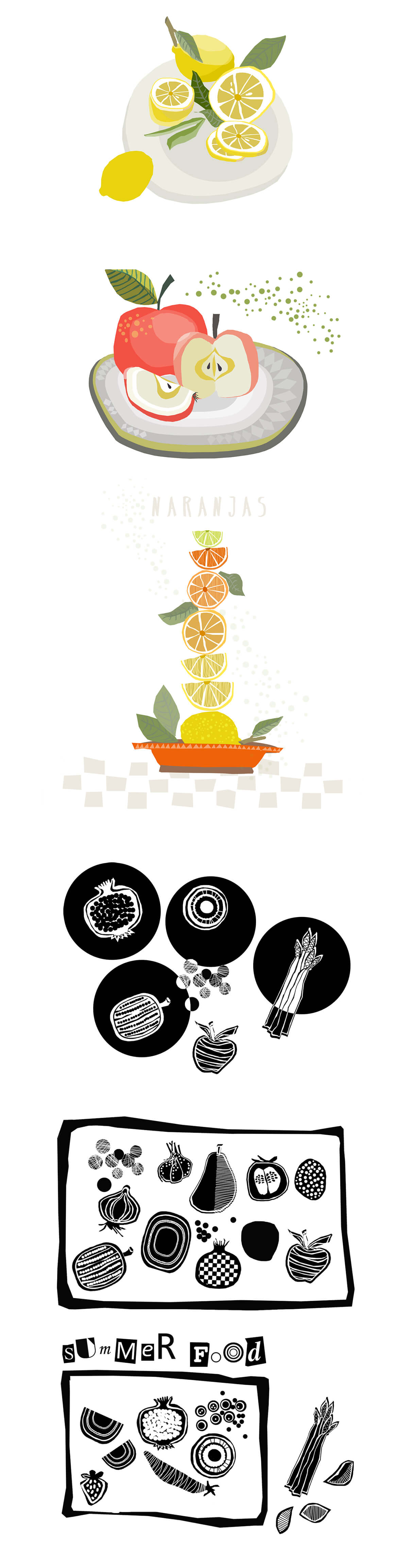 Food illustration by Angeles Nieto