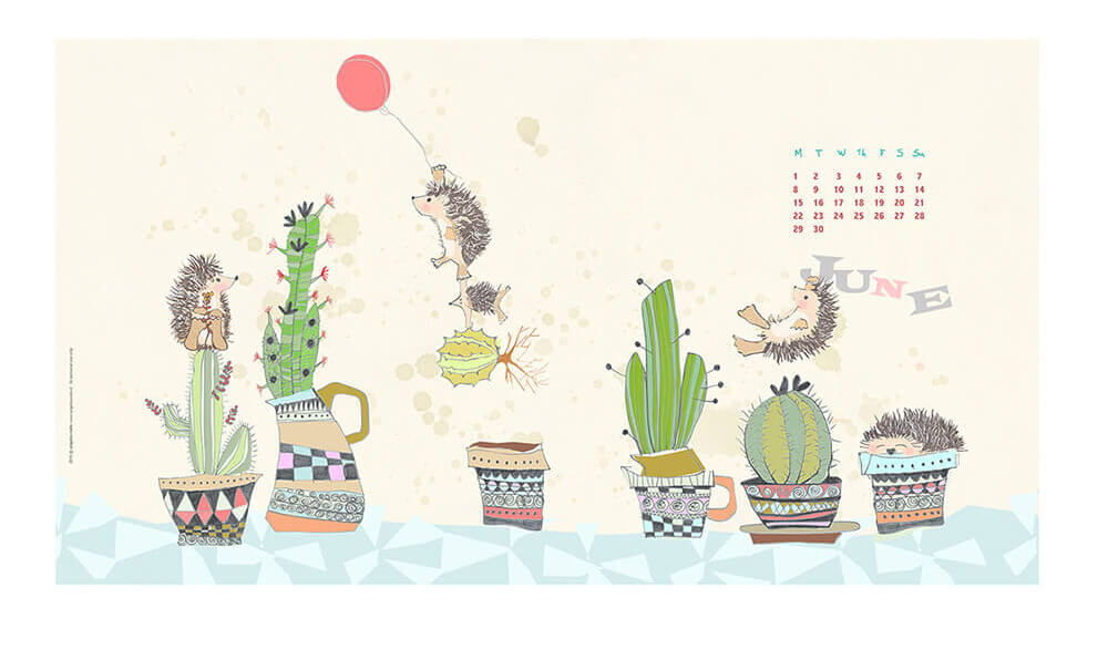 desktop illustration by Angeles Nieto