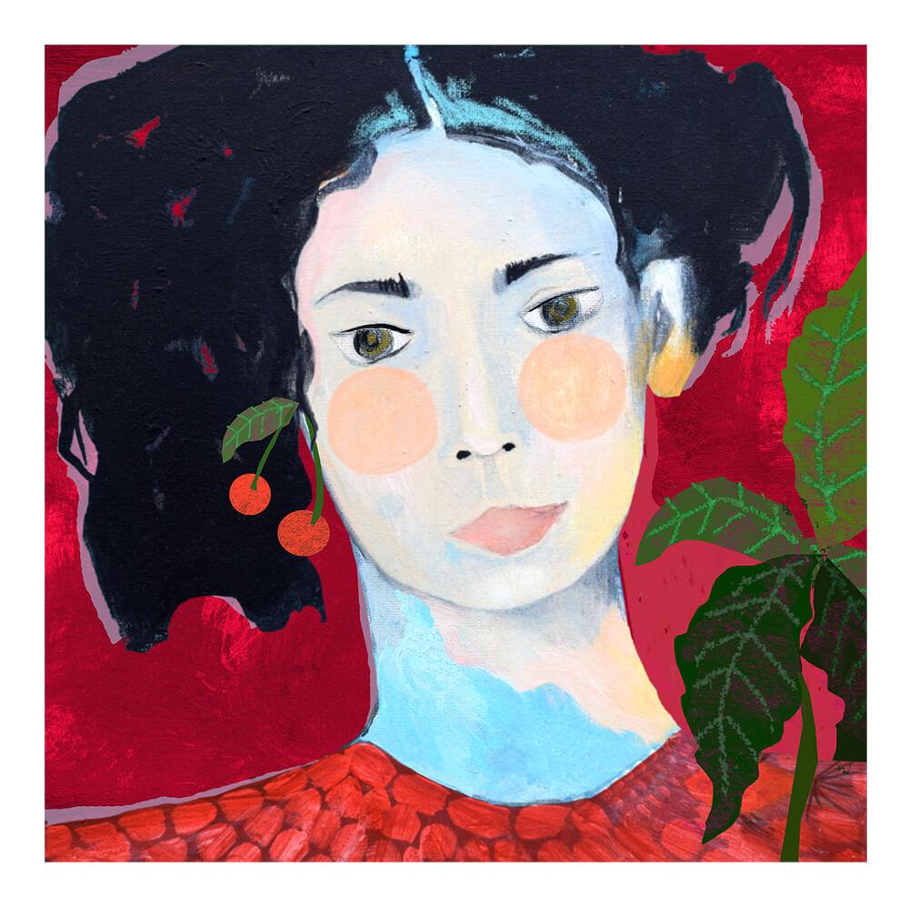 Portraits-portretten-retratos-illustrations by Angeles Nieto